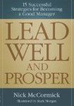 Lead Well & Prosper – book review