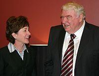 U.S. Senator Susan Collins, who co-chairs the ...