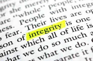 Values and The New CIO - Integrity