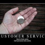 """The frustrations of being """"just"""" a customer"""