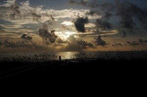 Sunrise over Carolina Beach