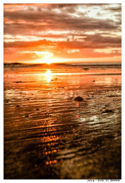 Sunrise over Isle of Palms
