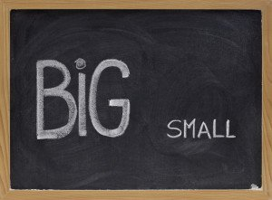 Start small with big data
