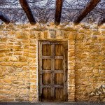 Foto Friday – Old door at Mission San Jose