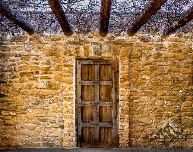 Old Door at Mission San Jose