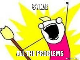 solve all the problems