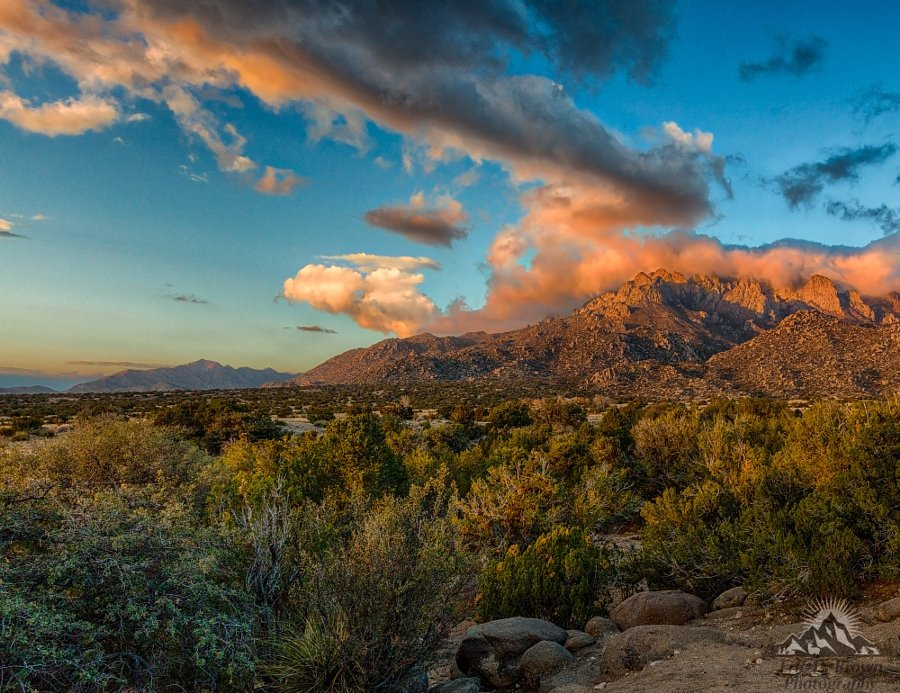 Sandia Mountain Sunset