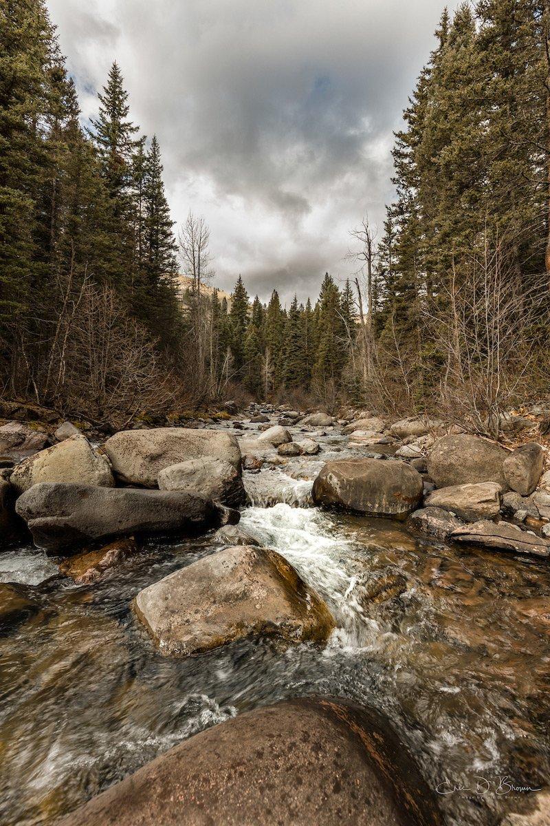 Cascade Creek near Durango Colorado