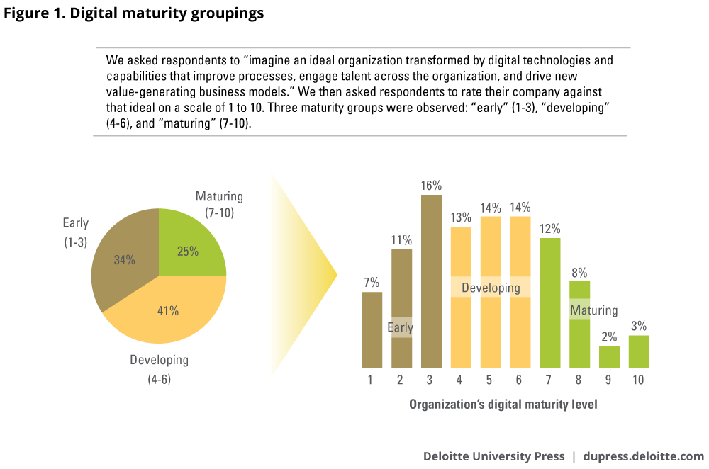 Deloitte's Digital Maturity Survey