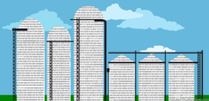 An image of data silos