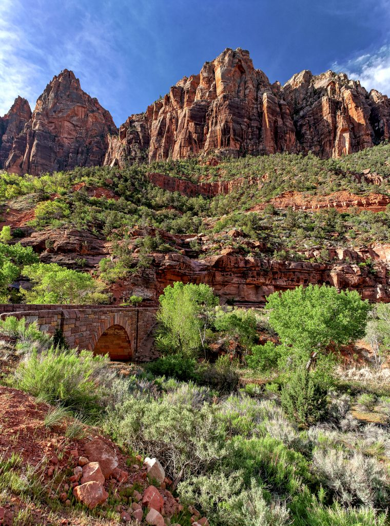 An image of Zion national park